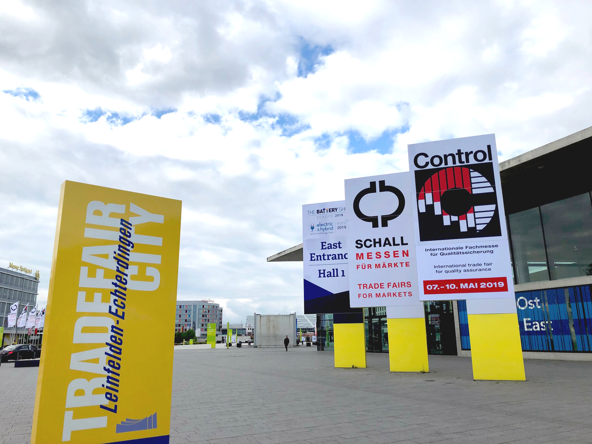 The Control trade fair has taken place annually in Germany since 1987.